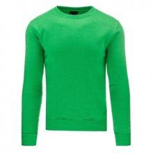 Pánská pohodlná mikina zelená