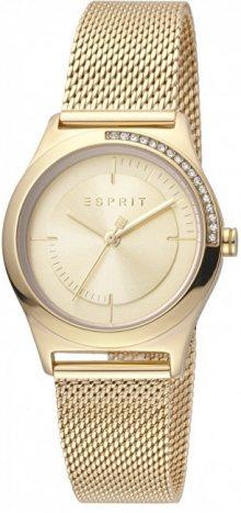 Esprit Hood Silver Gold Mesh ES1L116M0075