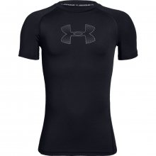 Under Armour Heatgear Short Sleeve černá 134