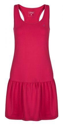 LOAP Dámské šaty Mersika Bright Rose Grey TLW1918-J48J S