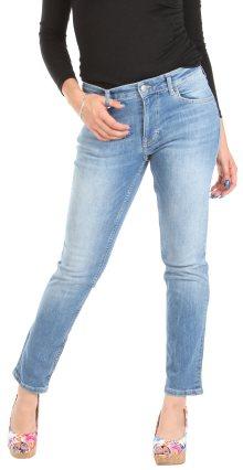 Dámské modré jeansové kalhoty Mustang