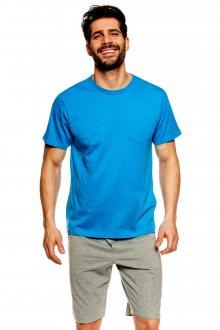 Pánské pyžamo 36600 Universe blue