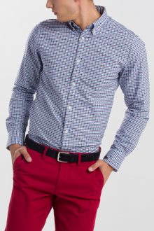 KOŠILE GANT THE OXFORD 3 COL GINGHAM REG BD