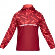 Under Armour Sportstyle Woven Layer červená XS