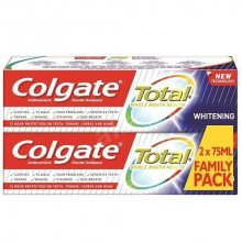 Colgate Zubní pasta Total Whitening Duopack 2 x 75 ml