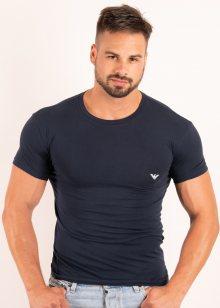 Pánské tričko Emporio Armani 111035 8P725 S Tm. modrá