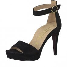 Tamaris Dámské sandále 1-1-28377-22-004 Black Suede 37