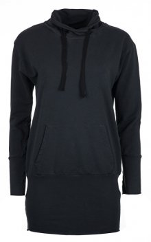 Deha Dámská mikina Long Sweatshirt B84064 Black S