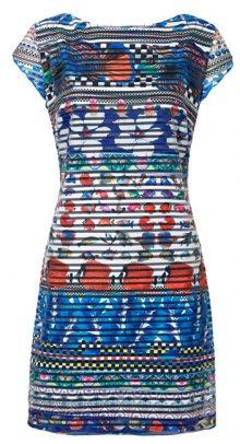 Desigual Dámské šaty Vest Fiona Blanco 19SWVK61 1000 XS