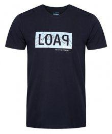 LOAP Pánské triko s krátkým rukávem Akron Bl Graphite modrá CLM1778-I06I M
