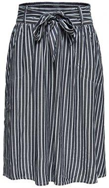 ONLY Dámská sukně Manhattan Stripe Dnm Skirt Qyt White 34