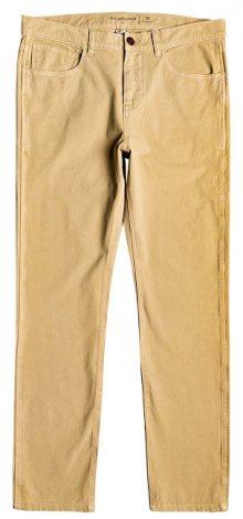Quiksilver Pánské kalhoty Krandy 5 Pockets Plage EQYNP03168-CKK0 32