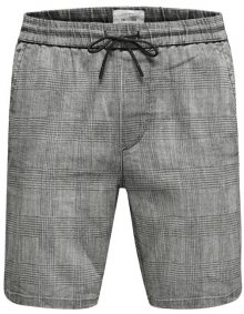 ONLY&SONS Pánské kraťasy Linus Check Shorts Gw 3788 Noos Phantom S