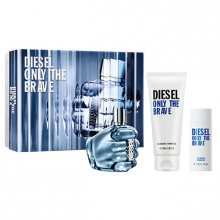 Diesel Only The Brave - EDT 75 ml + sprchový gel 100 ml + sprchový gel 50 ml