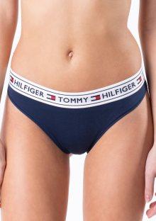 Dámské brazilky Tommy Hilfiger UW0UW00723 L Tm. modrá