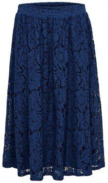 ONLY Dámská sukně Skylar Midi Skirt Wvn Navy Peony 36