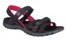 LOAP Dámské sandály Compresa P Black/Pink SSL19149-V11J 36