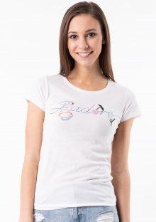 Dámské tričko Guess O92I00 L Bílá
