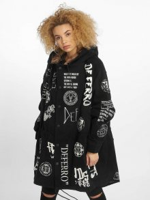Parka Organized Chaos in black M