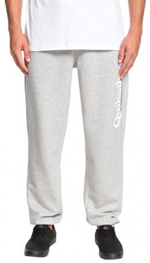 Quiksilver Pánské tepláky Track Pant Screen Light Grey Heather EQYFB03166-SJSH L