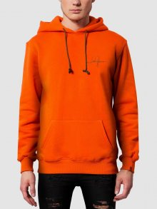 Mikina oranžová M