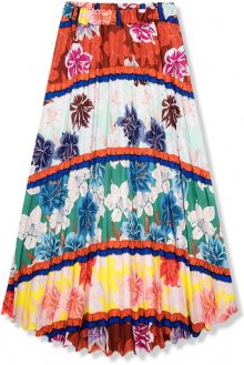 Květinová maxi sukně III.