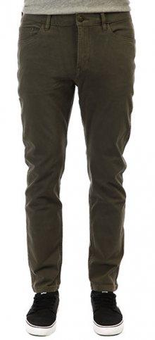 Quiksilver Pánské kalhoty Krandy 5 Pockets Thyme EQYNP03168-CQY0 32
