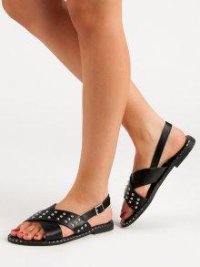 Originální dámské   sandály bez podpatku