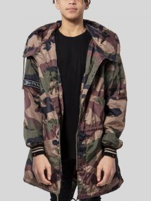 Parka London Camouflage in camouflage M