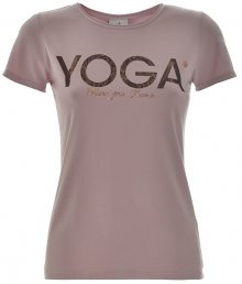 Deha Dámské triko T-Shirt B84670 Lilac L