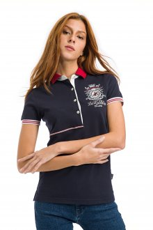 Galvanni Dámské polo tričko GLVSW12250001_Dress Blues Multi\n					\n