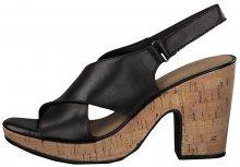 Tamaris Dámské sandále 1-1-28364-22-046 Black/Cork 36