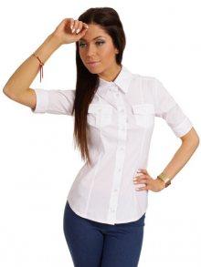 Made of Emotion Dámská košile, MOE027_WHITE\n\n