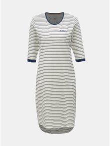 Bílé pruhované šaty Brakeburn