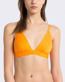 Calvin Klein Unlined Triangle Bell Orange M