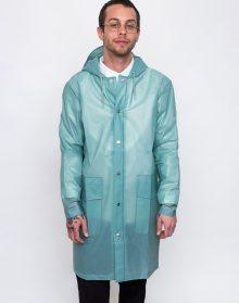 Rains Hooded Coat Foggy Dusty Mint L/XL