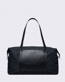 Sandqvist Hellen Black with Black Leather