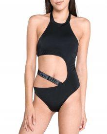 Jednodílné plavky Calvin Klein | Černá | Dámské | L