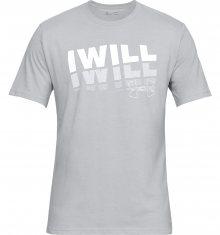 I Will 2.0 Triko Under Armour | Šedá | Pánské | M
