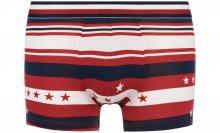 Boxerky Tommy Hilfiger | Modrá Červená | Pánské | S