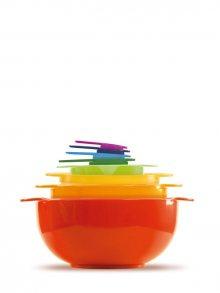 InnovaGoods Sada plastových misek a cedníků B1010128\n\n