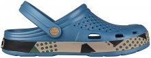 Coqui Pánské pantofle Lindo Niagara Blue Abstract 6405-409-5116 42