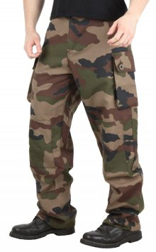 Kalhoty army Woodland