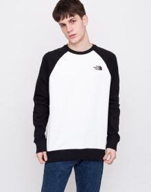 The North Face Raglan Redbox Crew TNF White/TNF Black M
