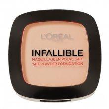 L´Oréal Paris Kompaktní pudr pro přirozený vzhled pleti Infallible 24H (Powder Foundation) 9 g 123 Warm Vanilla