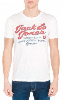 Super Triko Jack & Jones | Bílá | Pánské | S