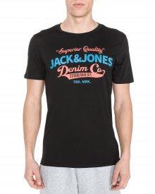 Triko Jack & Jones | Černá | Pánské | S