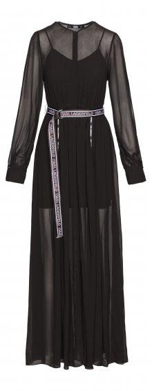 Šaty Karl Lagerfeld | Černá | Dámské | XS