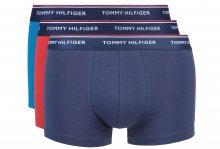 Boxerky 3 ks Tommy Hilfiger | Modrá Červená | Pánské | M
