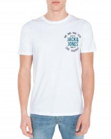 Newmark Triko Jack & Jones | Bílá | Pánské | S